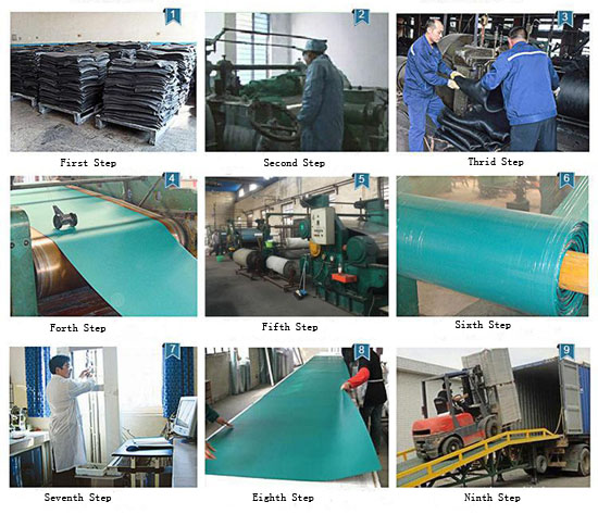 ESD rubber matting